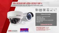 Camera IP DS-2CD2010F-I, DS-2CD2110F-I