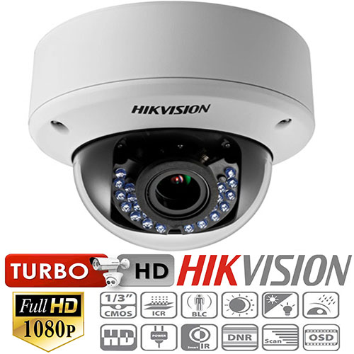Camera Dome HD TVI Hikvision DS-2CE56D5T-(A)VPIR3